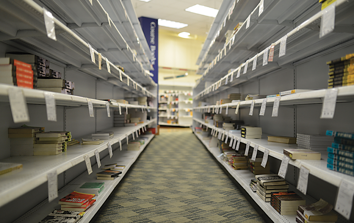 In this photo, racks of textbooks are seen on the second floor of the UConn Co-op in Storrs, Connecticut. UConn students have begun to search for alternatives to the Co-op in recent years, often turning to Amazon for more competitive prices. (Jason Jiang/The Daily Campus)