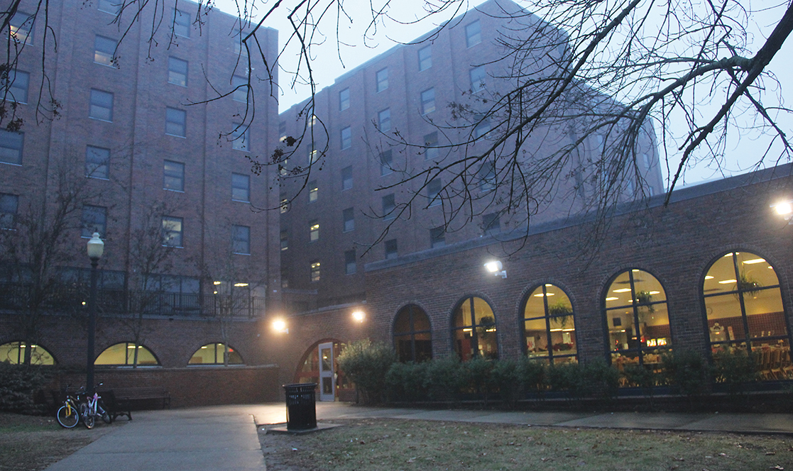 In this file photo, UConn's Buckley Residence Hall is pictured. (File Photo/The Daily Campus)