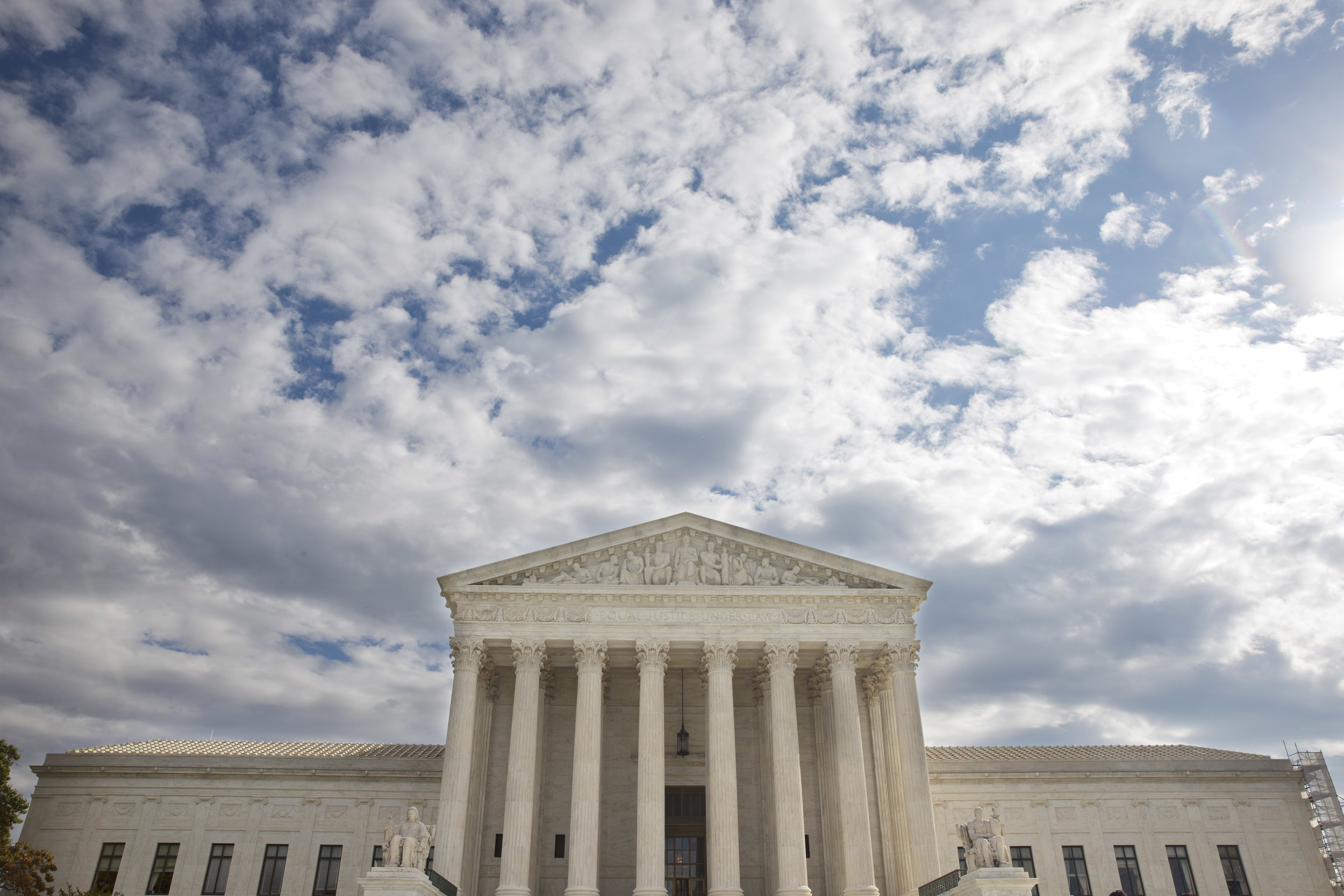 This Oct. 13, 2015, photo shows the Supreme Court in Washington. (Jacquelyn Martin/AP)
