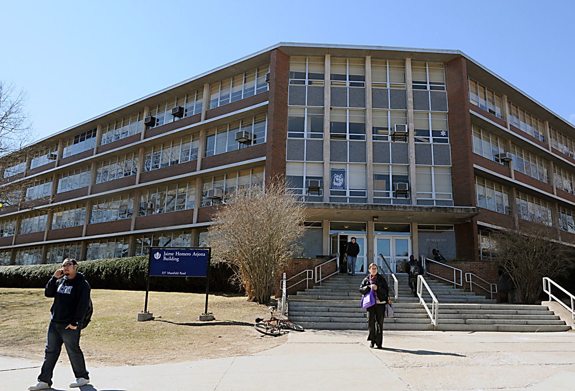 In this file photo, the Jamie Homero Arjona building, which contains UConn's Counseling and Mental Health Services, is pictured. (File Photo/The Daily Campus)