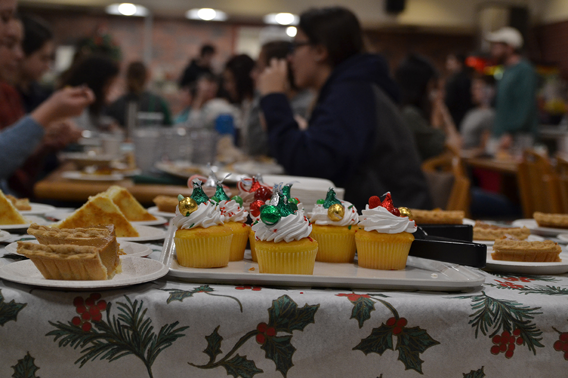 While themed dinners have happened all semester and within this past week, Dining Services many events on its schedule during finals week, starting Dec. 13. (Amar Batra/The Daily Campus)