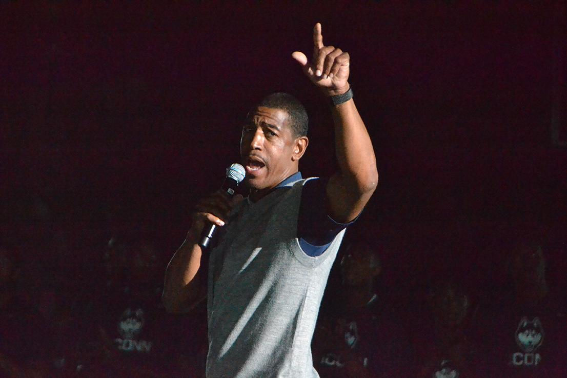 UConn men's basketball head coach Kevin Ollie. (Bailey Wright/The Daily Campus)
