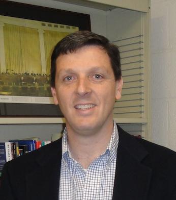 Professor Vincent Moscardelli of the UConn Political Science department. (Screenshot/UConn Political Science Website)