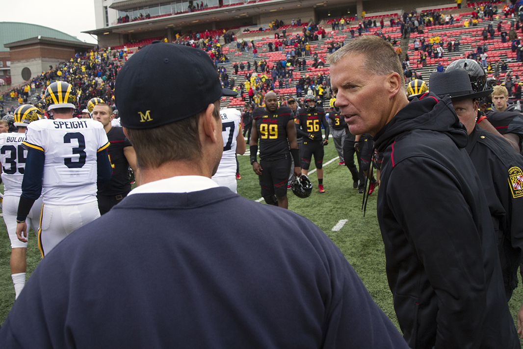 Former UConn and Maryland head coach Randy Edsall was named as director of football research and special projects with the Detroit Lions. (Creative Commons)