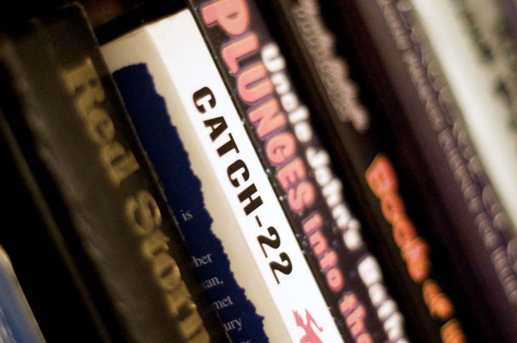 Catch-22 by Joseph Heller is deemed one of the most impressive war novels on shelves today by the roundtable.(Flickr/ Matthew Rogers )