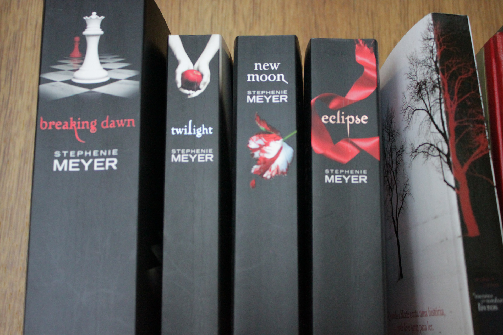 """The  """" Twilight"""" series were some of the best selling and most influential books of the 21st century. It's too bad the main character, Bella, was such a drag. (Elizabeth Knudson/Flickr)"""