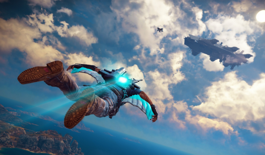 "Sky Fortress, the first addition to ""Just Cause 3,"" was released on March 8, 2016. (Courtesy/IGN)"