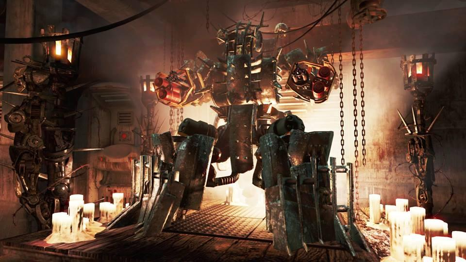 "A scene from the new robot-themed Fallout DLC, ""Automatron,"" which was released on March 22. (Courtesy/Gamestop)"