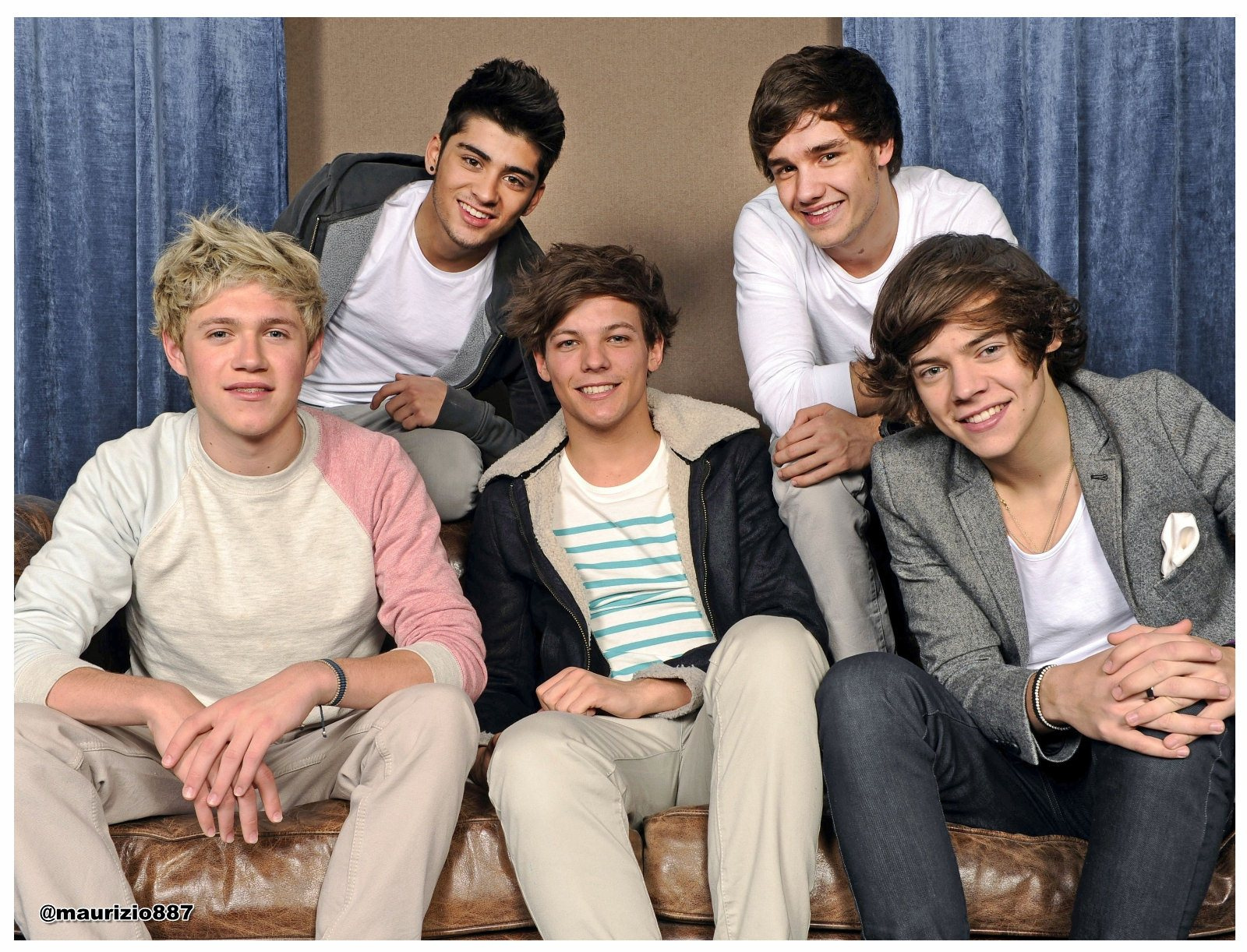 One Direction had a different look in 2012. Today, Zayn is the most talked about member of the group.(Flickr/Sara Hiscoe)