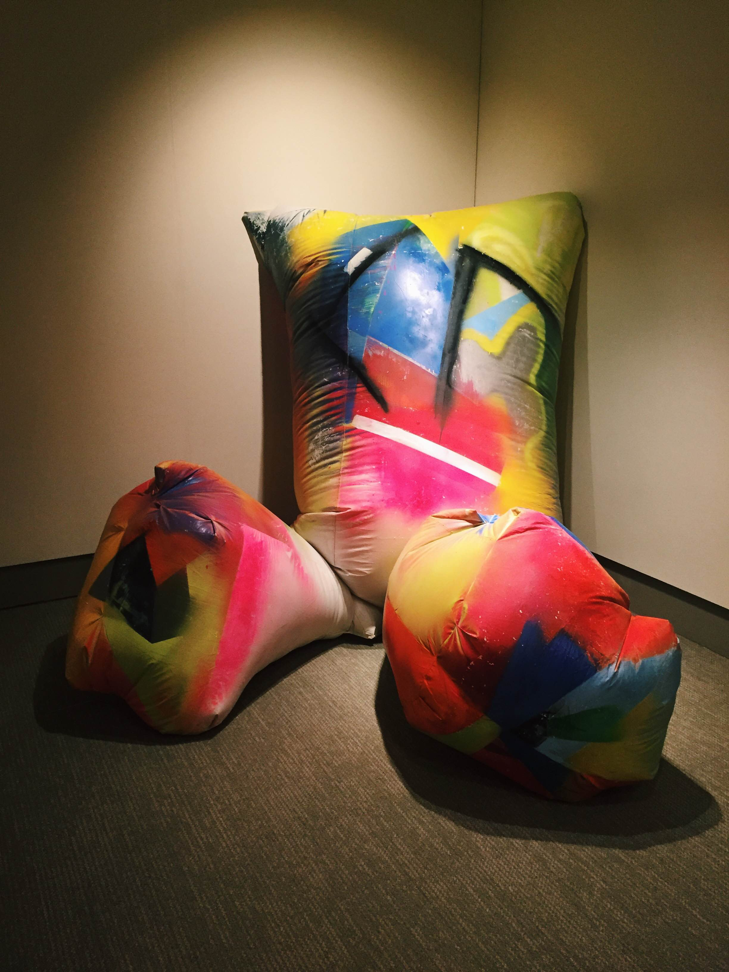 """The William Benton Museum of Art debuted a new exhibit titled """"Blow Up: Inflatable Contemporary art"""" on Thursday, June 2, 2016. (Megan Krementowski/The Daily Campus)"""