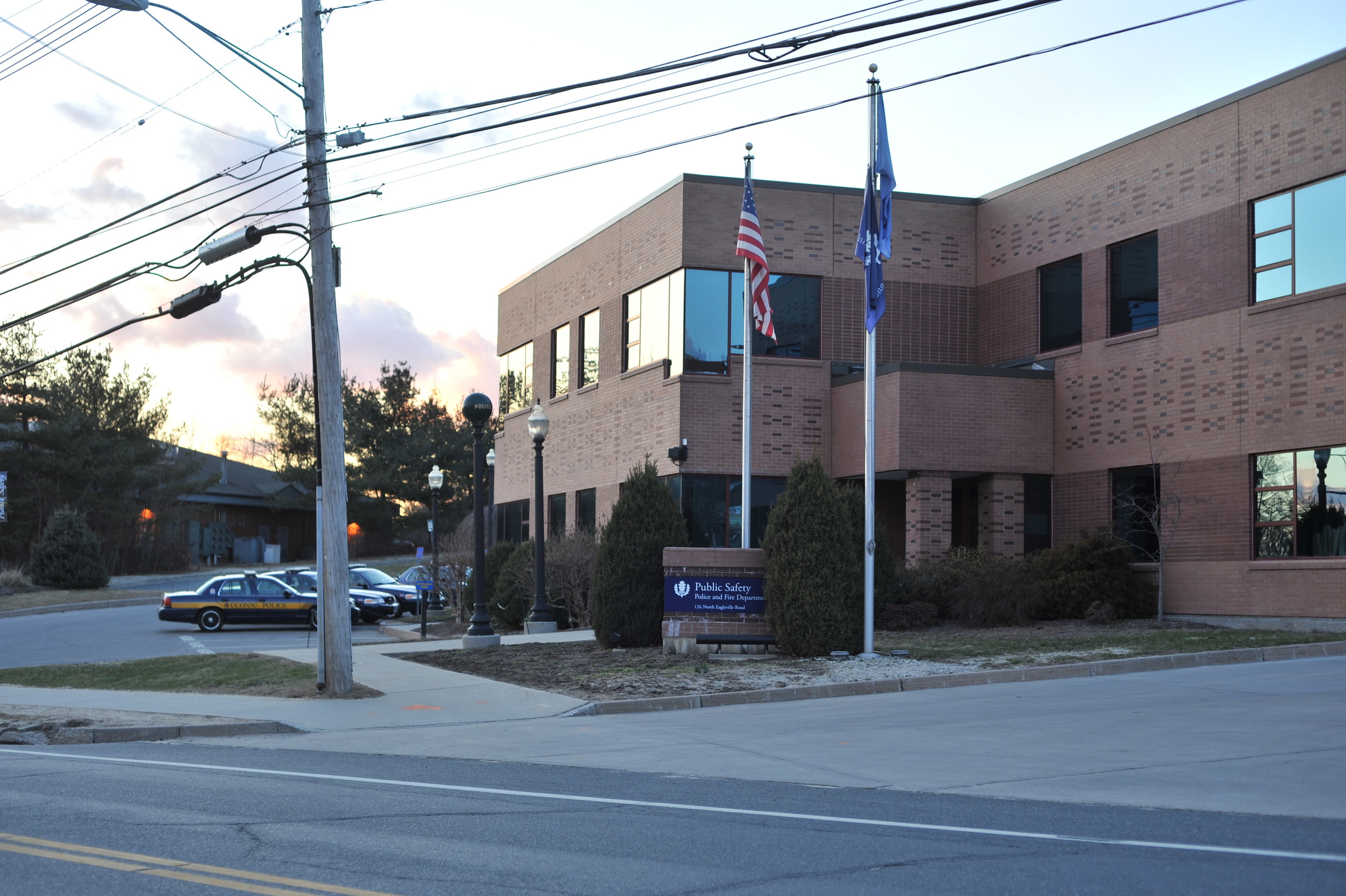 The UConn police department, shown above, has had their officers wear body cameras since early July. (File/The Daily Campus)