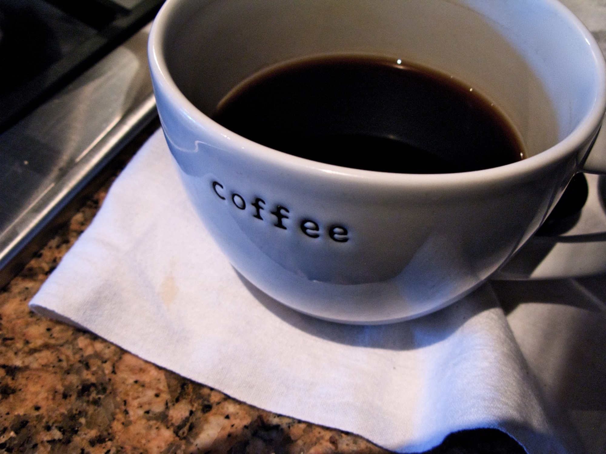 Coffee brewed in a Bodum Santos vacuum coffee maker. (Jennie Robinson Faber/Flickr)