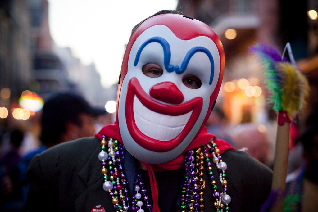 Hundreds of students gathered near North Campus Monday night to search for an alleged clown that was sighted around 11 p.m. There is no confirmation by police that there was a clown and no arrests were made.(Philippe Leroyer/Flickr Creative Commons)