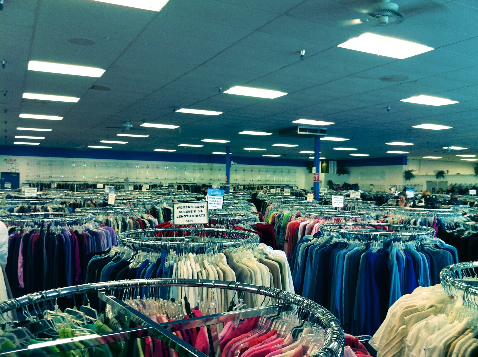 If you've never experienced the thrill that is thrift shopping here's the 'how too' on the best way to thrift and find the best stuff every time. (Brad K./Flickr via Creative Common)