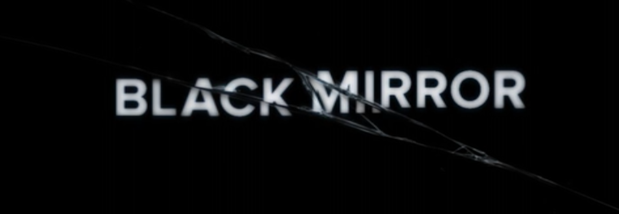 """A still from the opening credits of """"Black Mirror."""" (Image courtesy of Netflix)"""