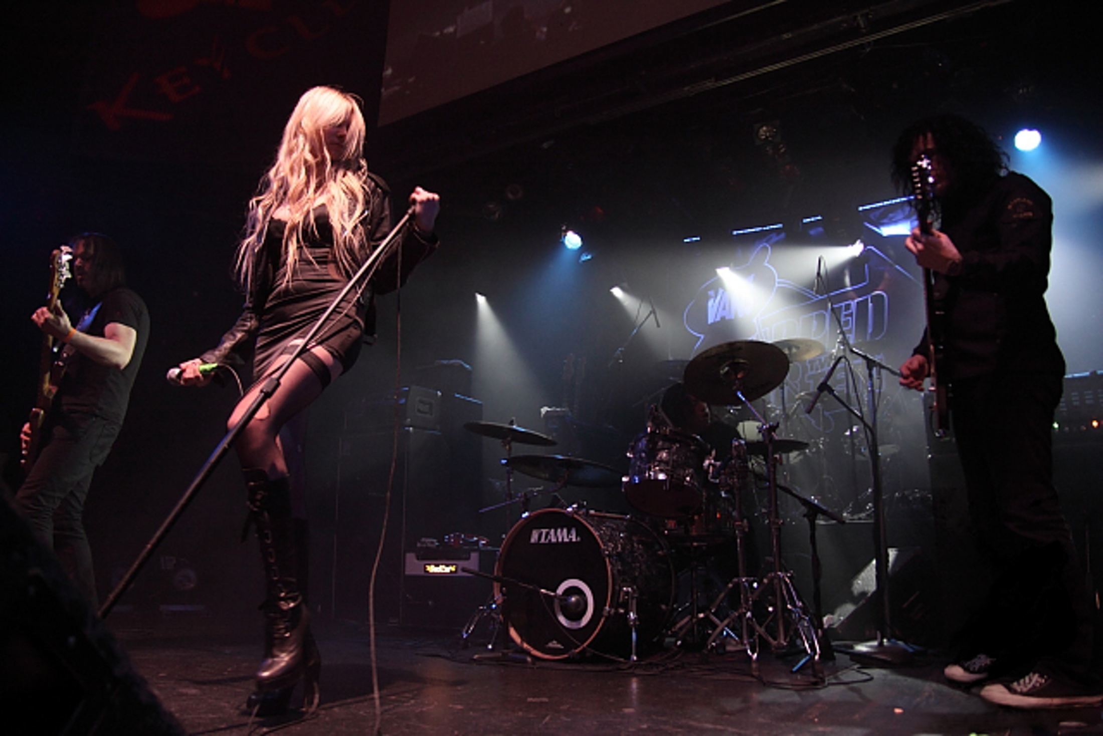 The Pretty Reckless perform at the Warped Tour Kickoff Party at the Key Club, Sunset Strip, West Hollywood, CA in 2010. (Genie Sanchez/Wikimedia, Creative Commons)