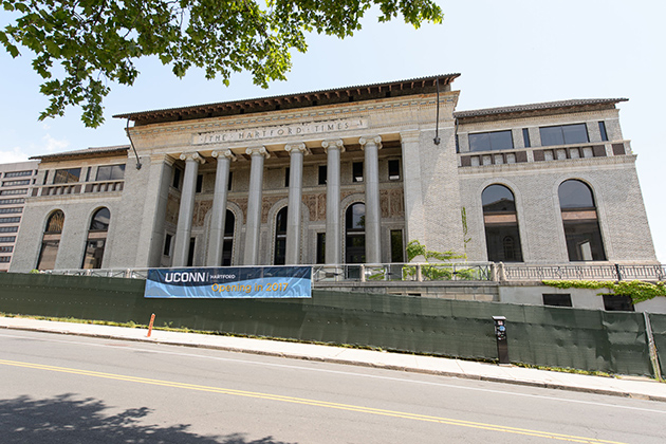 The new downtown Hartford campus will be built at the former Hartford Times buidling. The study was done at the School of Social Work at the Greater Hartford UConn campus. (Courtesy/UConn Today)