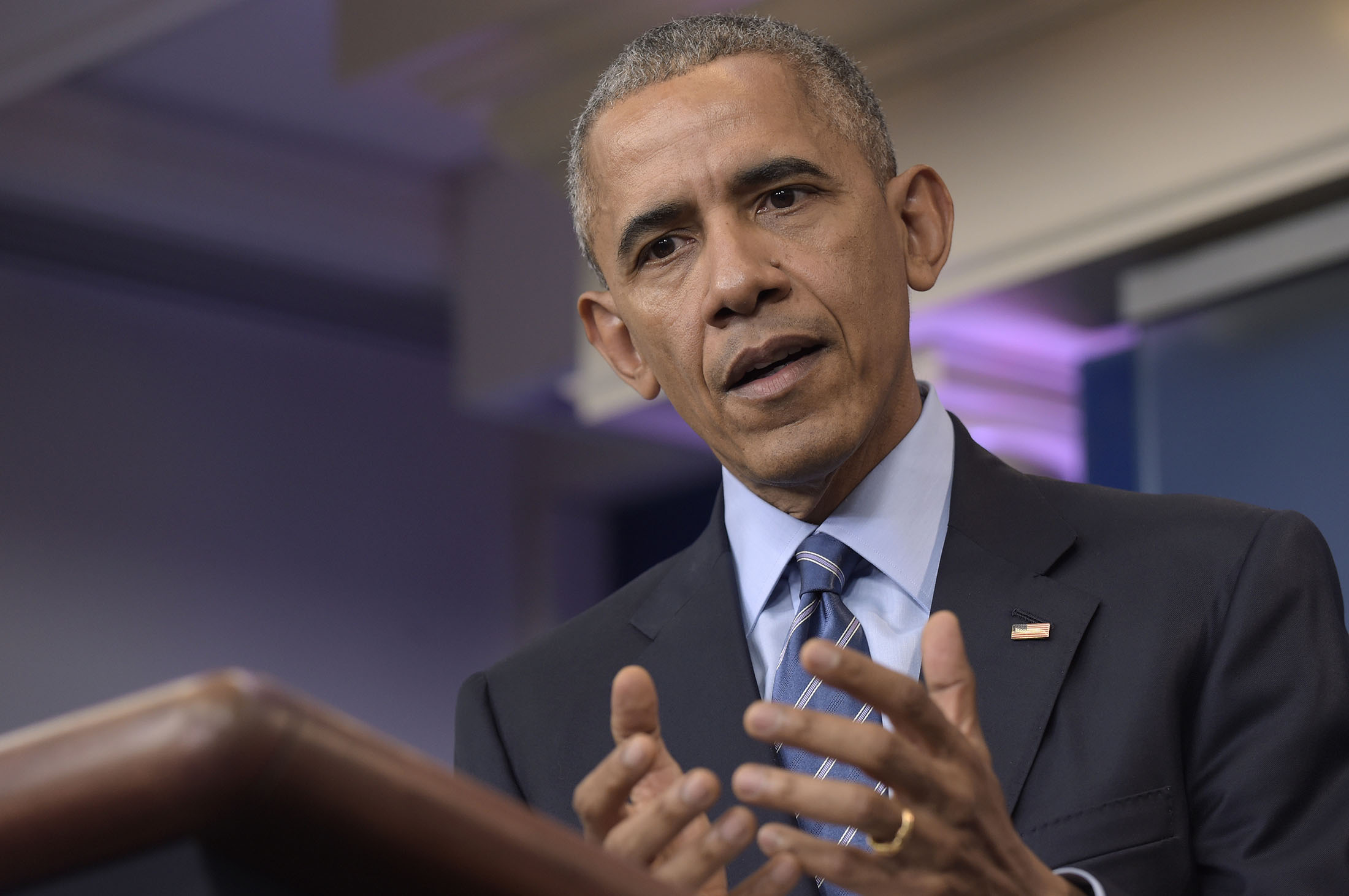 In this Dec. 16, 2016, file photo, President Barack Obama speaks during a news conference in the briefing room of the White House in Washington. Congressional Republicans intent on repealing Obama's health care law assert that it's already failed and is in a 'death spiral.' But most experts say that despite the law's widely acknowledged problems, the GOP's claims are exaggerated and Obamacare is not currently in a 'death spiral.' (AP Photo/Susan Walsh, File)