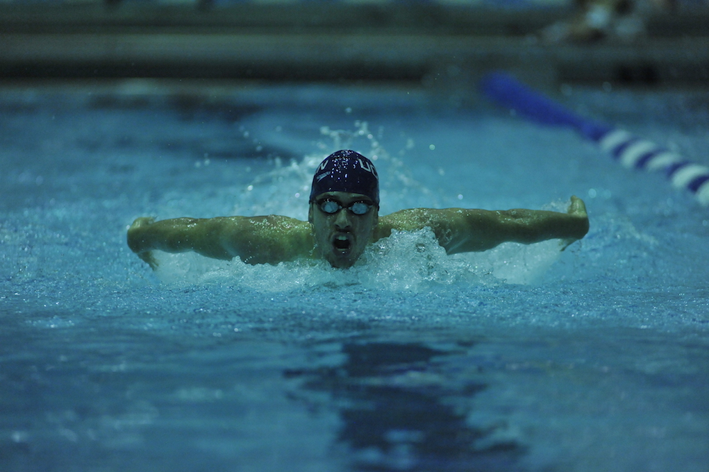 File photo from a UConn Swimming and Diving meet (Jason Jiang/The Daily Campus)