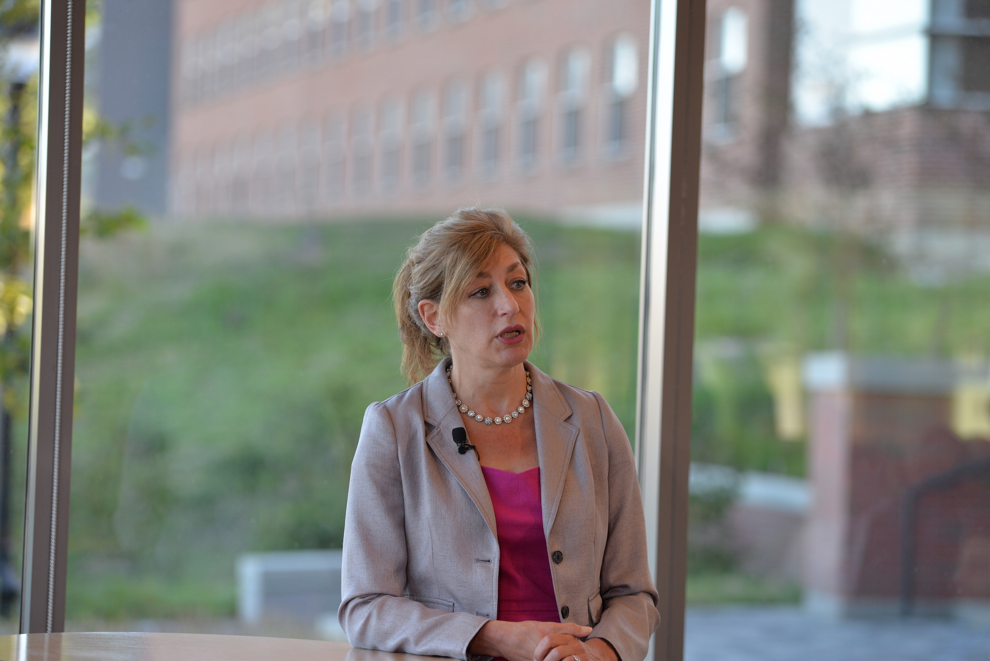 Susan Herbst announced she would advocate for a committee that explores how President Trump's ban on immigration will affect UConn students and faculty. (File photo/The Daily Campus)