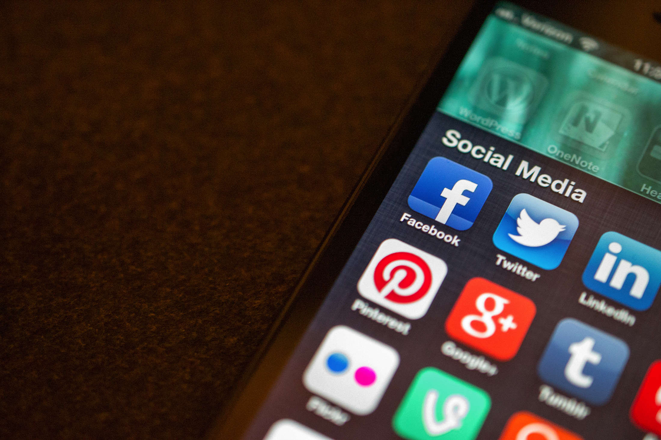 A few of the popular social media apps that have released statements saying that the FBI requesting information about certain users. (Jason Howie/Flickr Creative Commons)