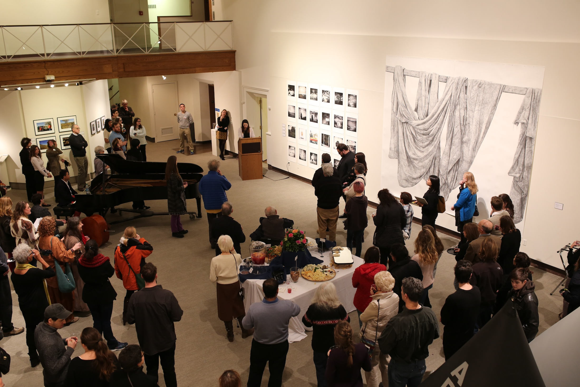 A new exhibit opens in the William Benton Museum on Thursday showcasing permanent and faculty's work from the School of Fine Arts at UConn. (Tyler Benton/The Daily Campus)