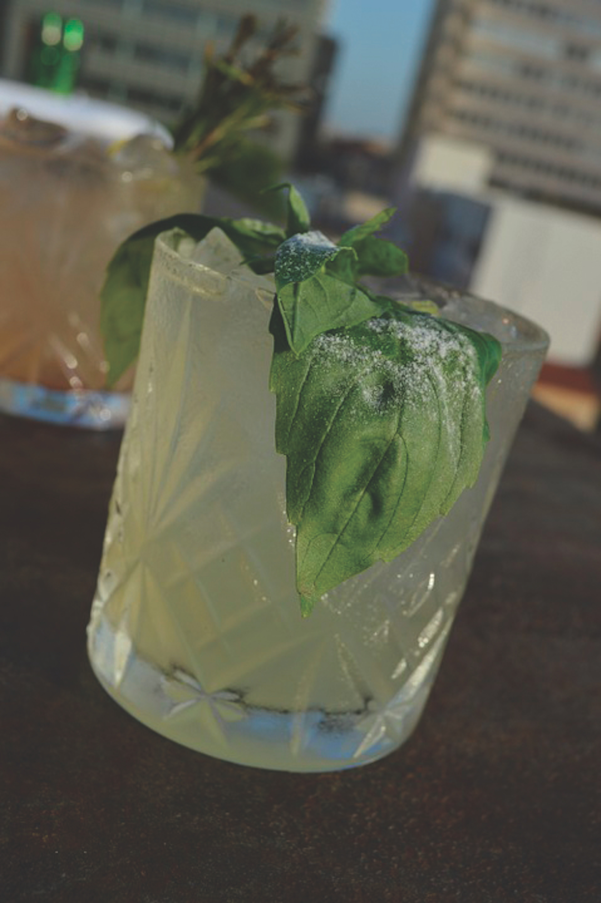 This week's Drink of the Week is a minty-mojito lemonade. It tastes even better with some ice in a blender. (Photo courtesy of common.wikimedia.org)