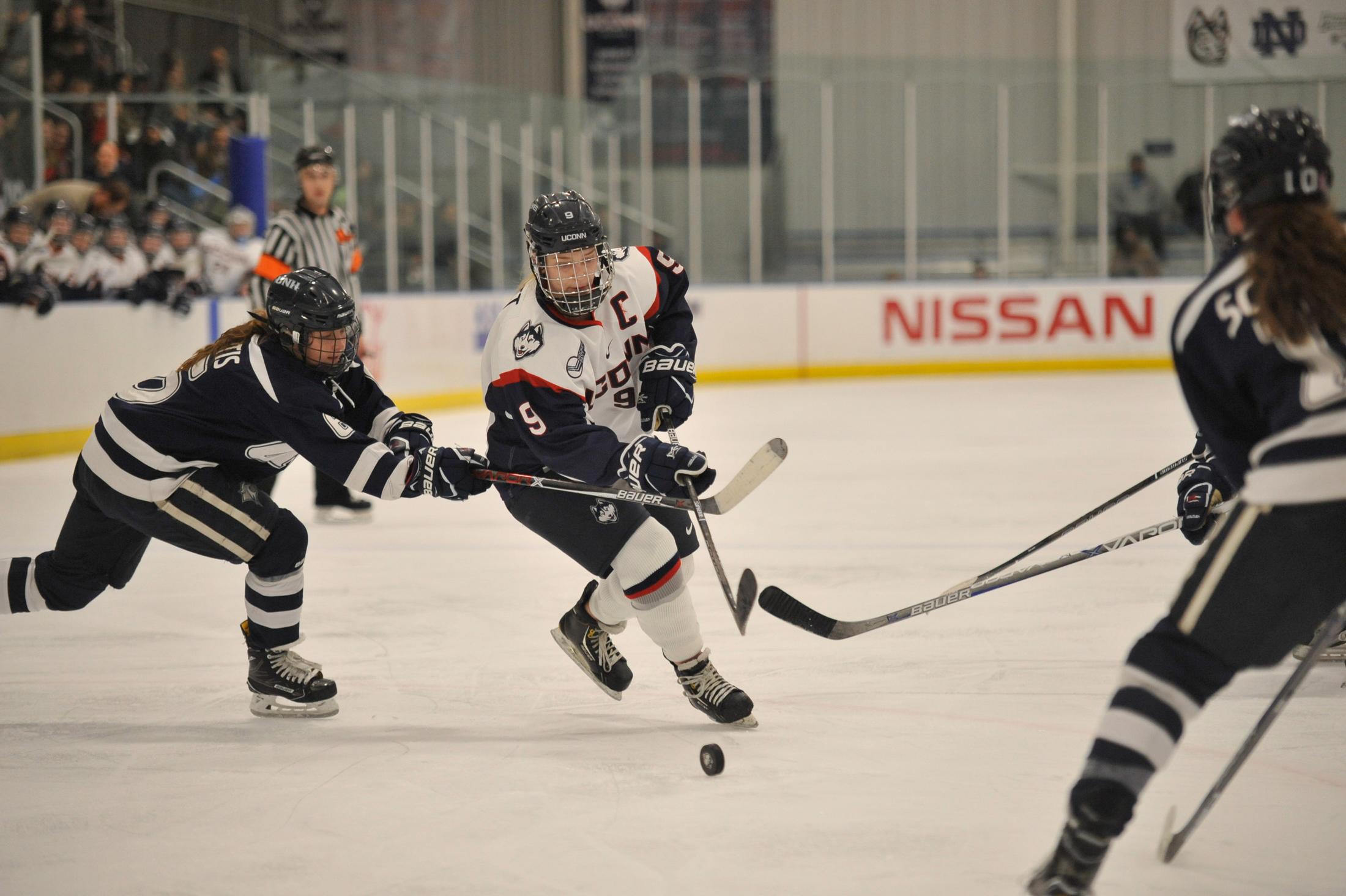 Battle of the Huskies in women's Hockey East quarterfinals