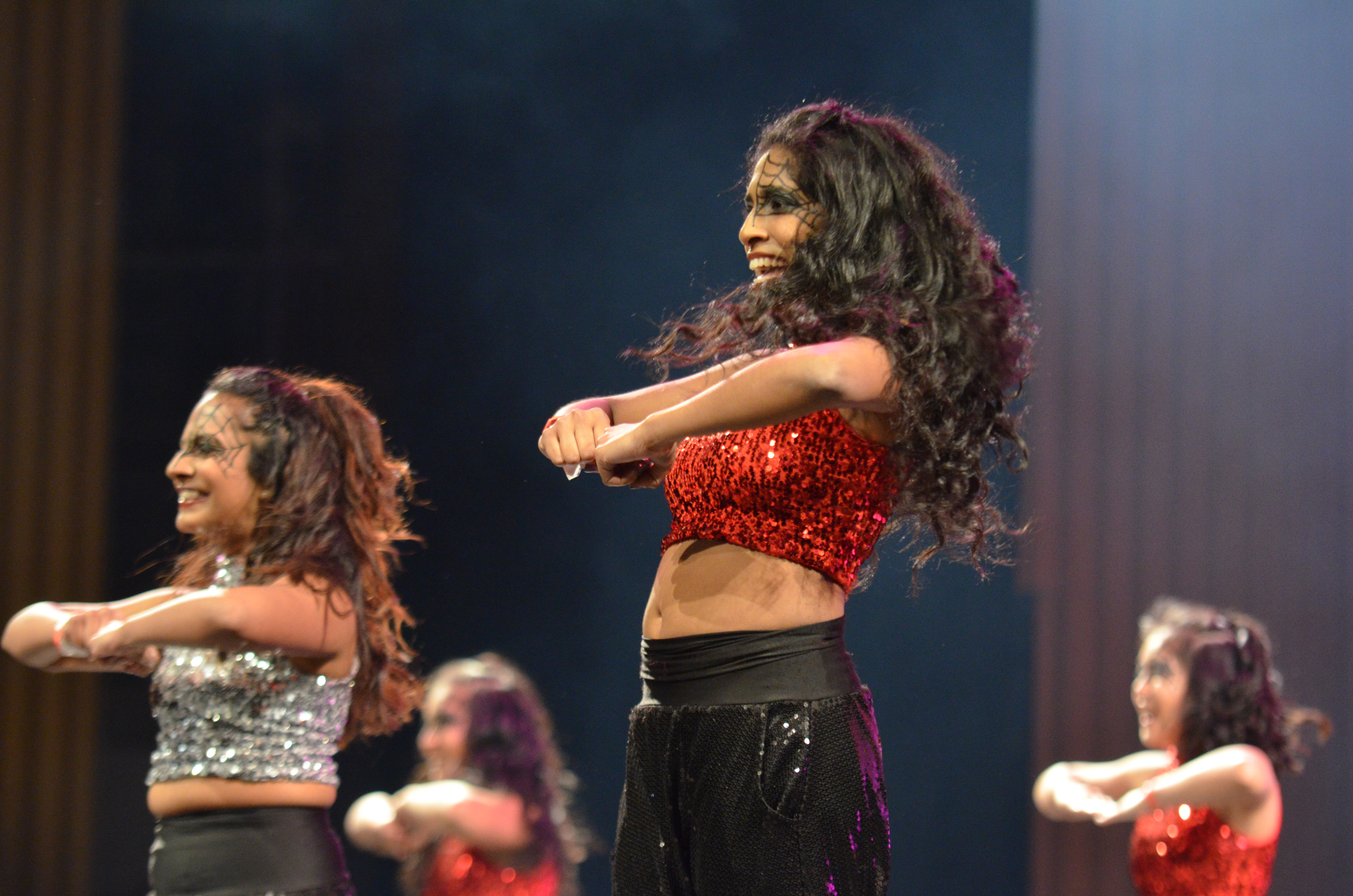 UConn Surya participates in Asian Nite 2017 on Saturday evening at the Jorgensen Center for the Performing Arts. (Akshara Thejaswi/The Daily Campus)