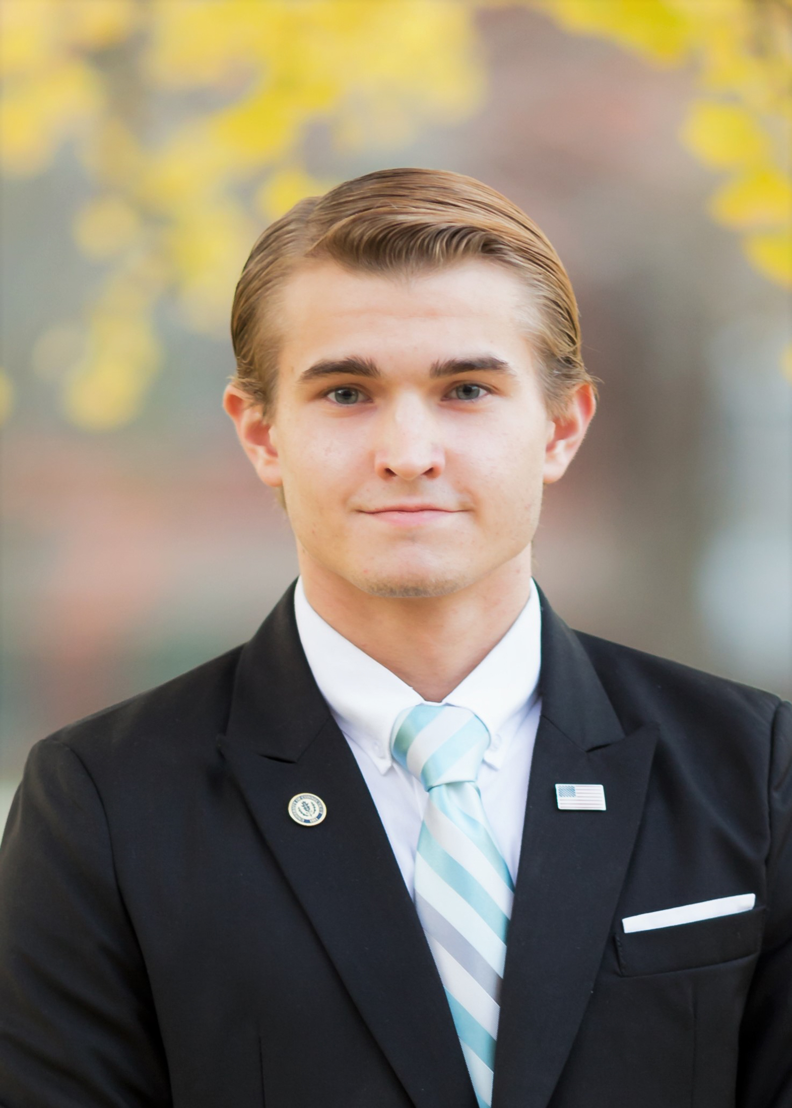 Dylan Nenadal, a fourth-semester management major, is running for Undergraduate Student Government comptroller position for the 2017-18 year. Nenadal believes that his experience as the Avery Point treasurer qualifies him for the position. (Tyler Benton/The Daily Campus)