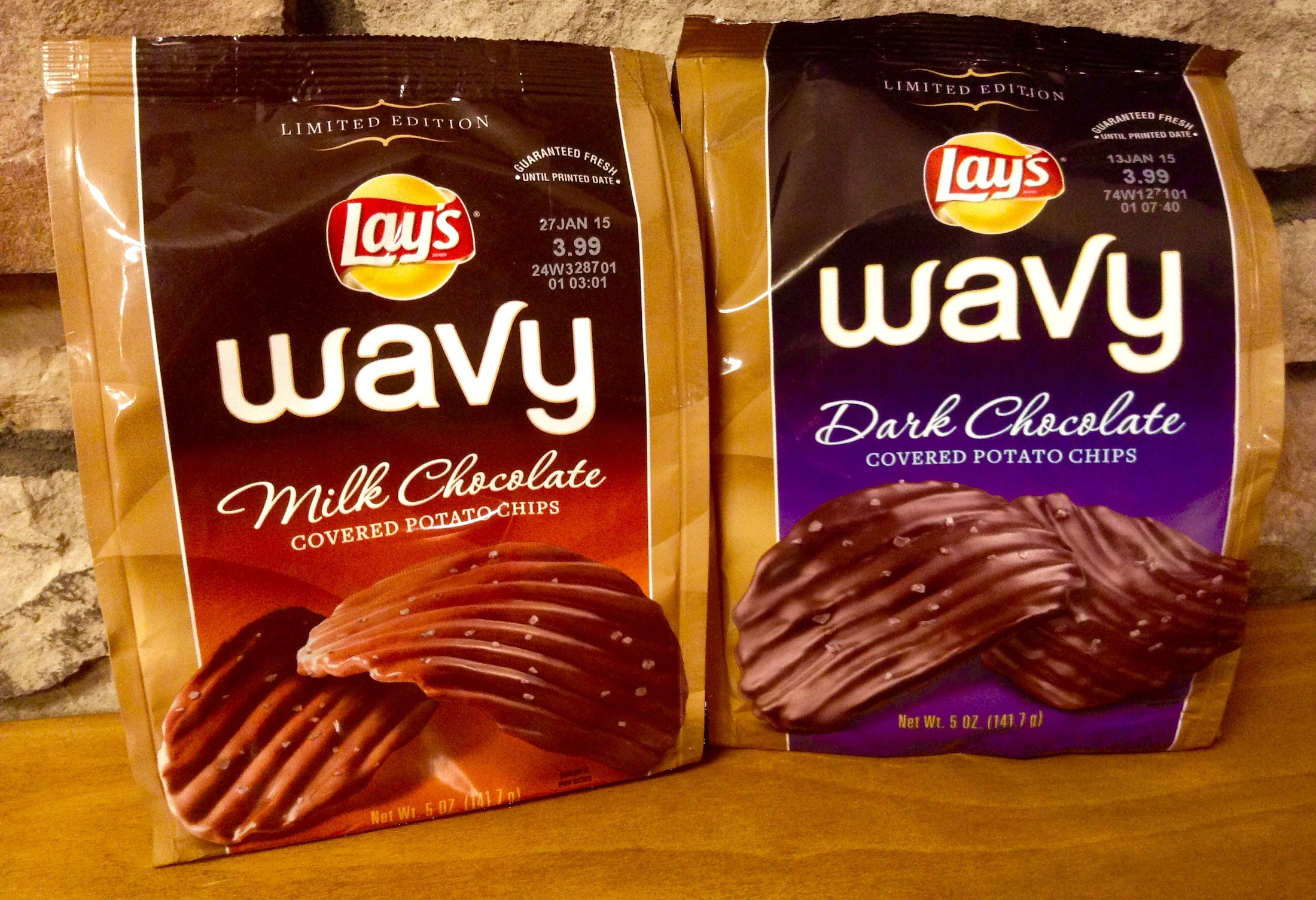 Chocolate-covered potato chips are one food combination highly enjoyed by snackers a like.(Mike Mozart/Creative Commons Flickr)