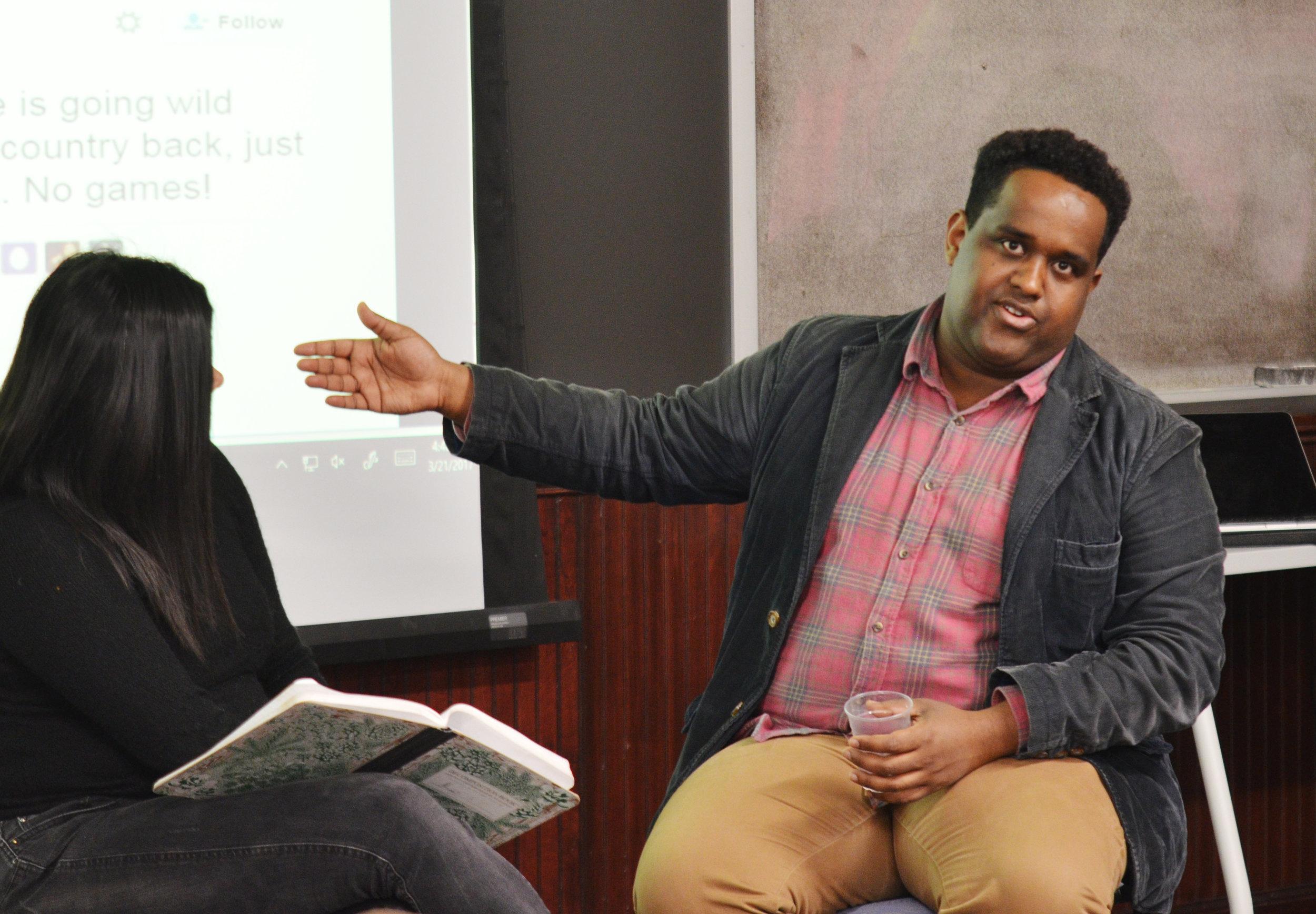 Journalist Ismail Einashe | March 21