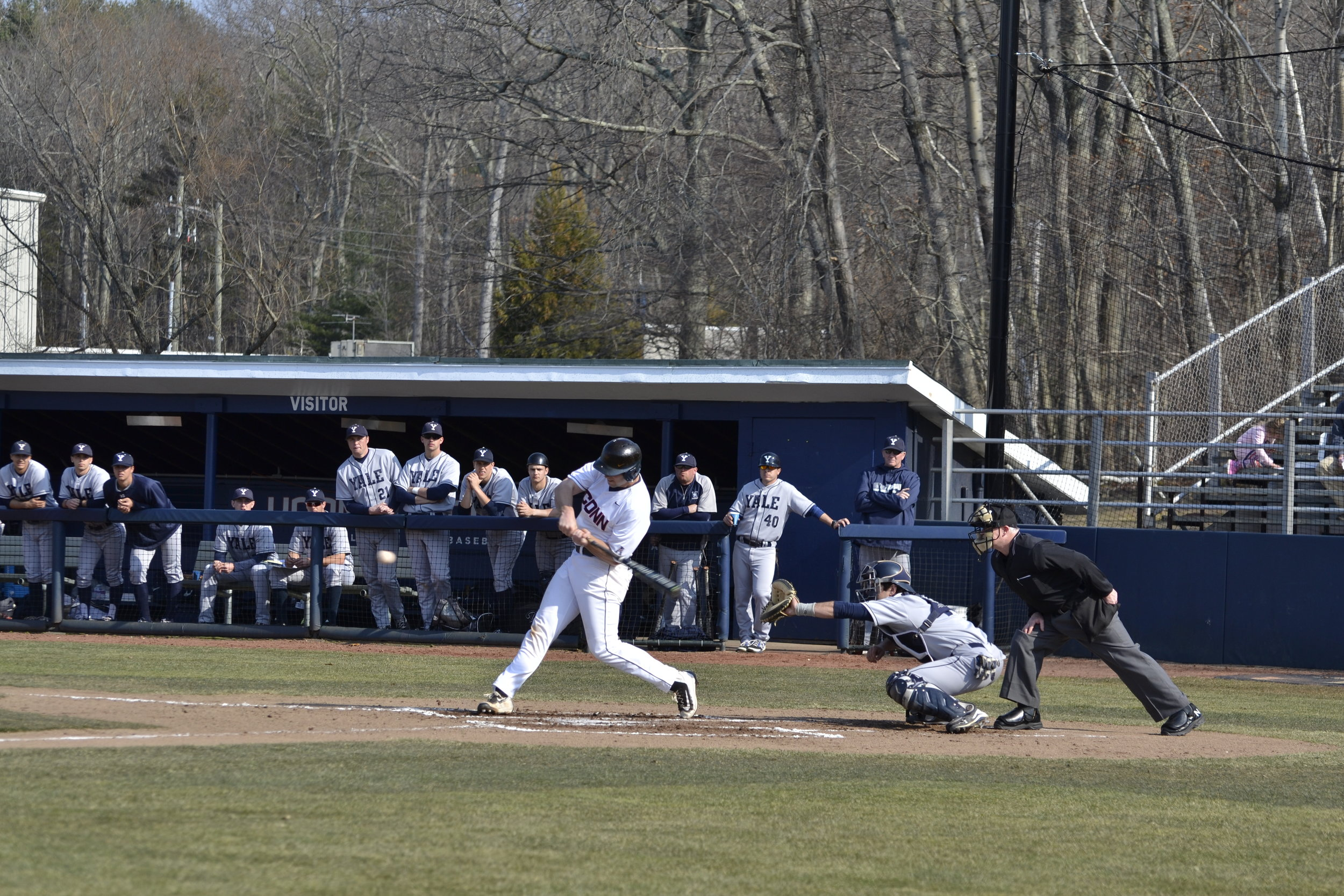 Starting pitchers lead the way for UConn in their sweep over the Pirates of East Carolina. (File photo)