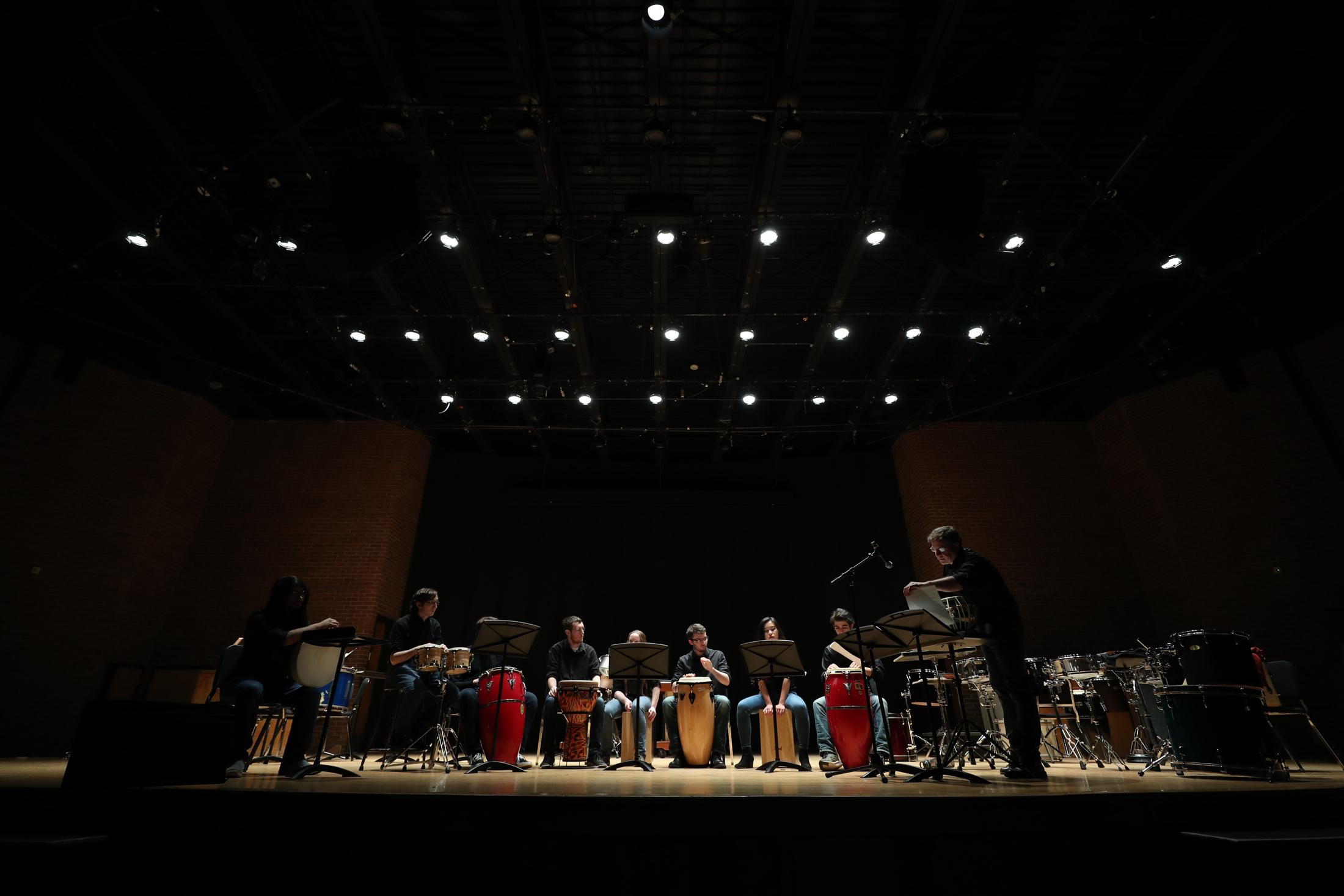 UConn Percussion Ensemble Spring Concert