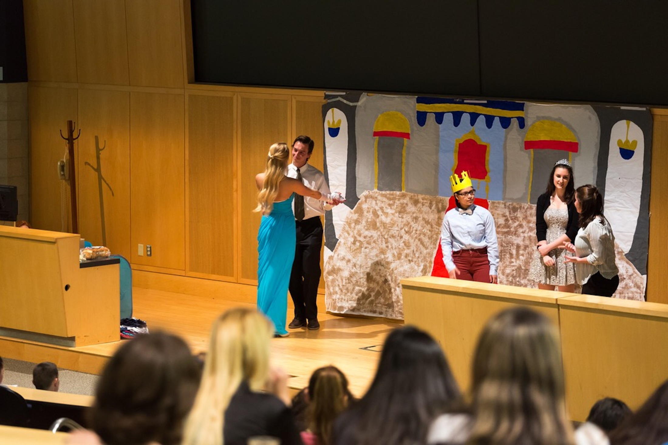 ASL Club and students hosts Deaf Awareness Day in ITE C-80 Thursday evening. The night consisted of plays on for the audience to enjoy. (Tyler Benton/The Daily Campus)