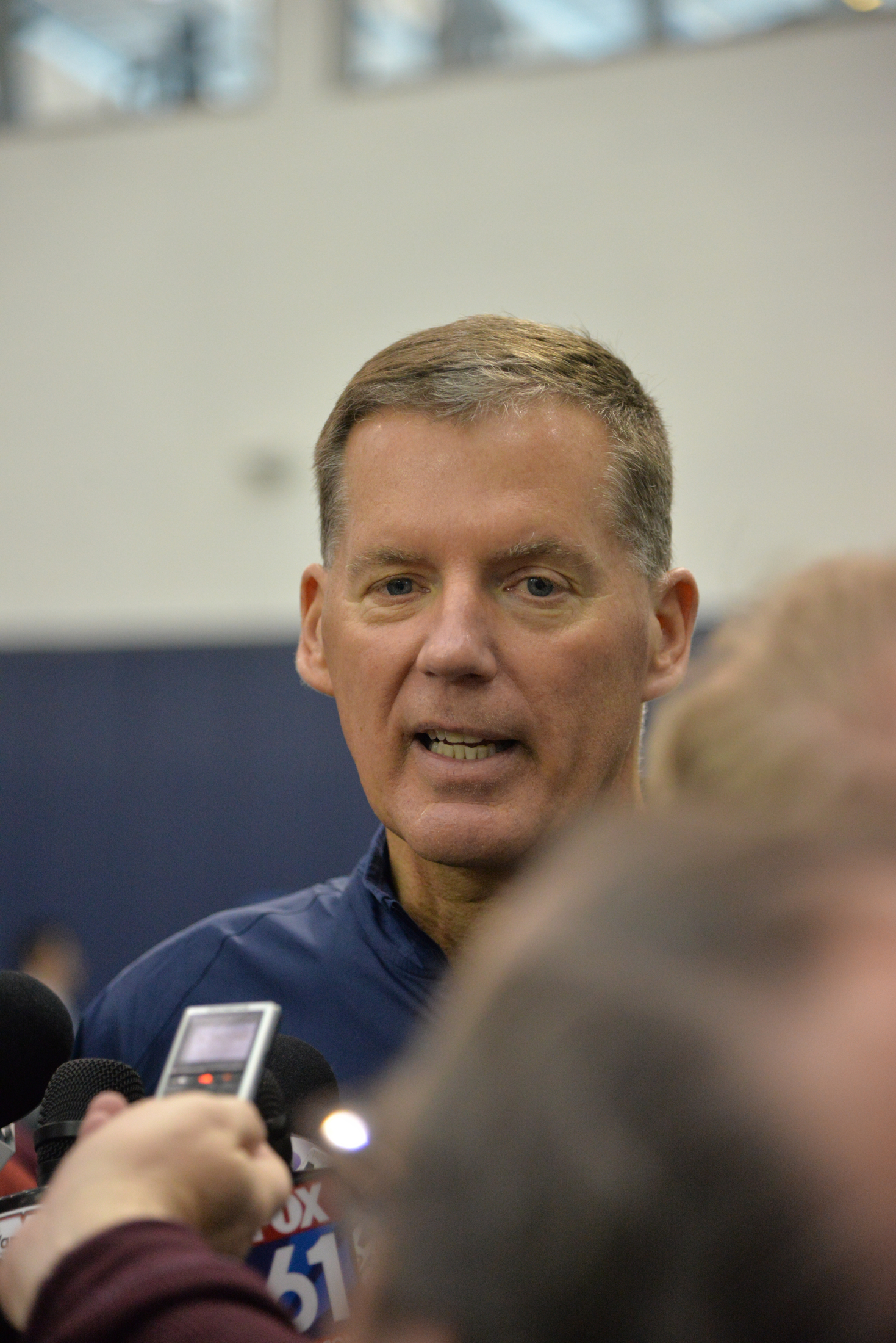 The spring game will be the first chance for fans to see the work that head coach Randy Edsall has done in the past few months after returning to the program. (Amar Batra/The Daily Campus)