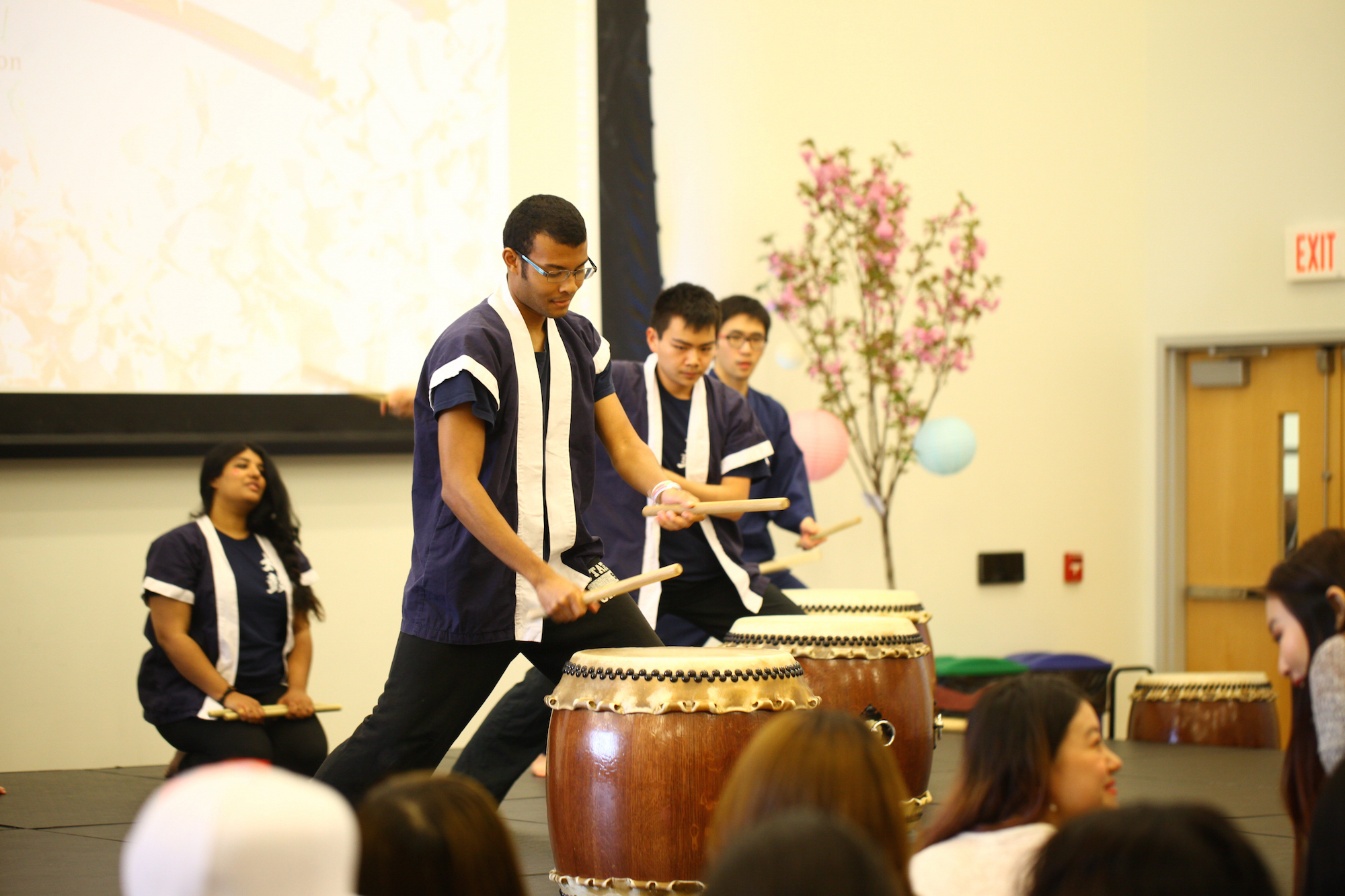 Spring Weekend hosts a Cherry Blossom Festival in the SU Ballroom Saturday afternoon. (Tyler Benton/The Daily Campus)