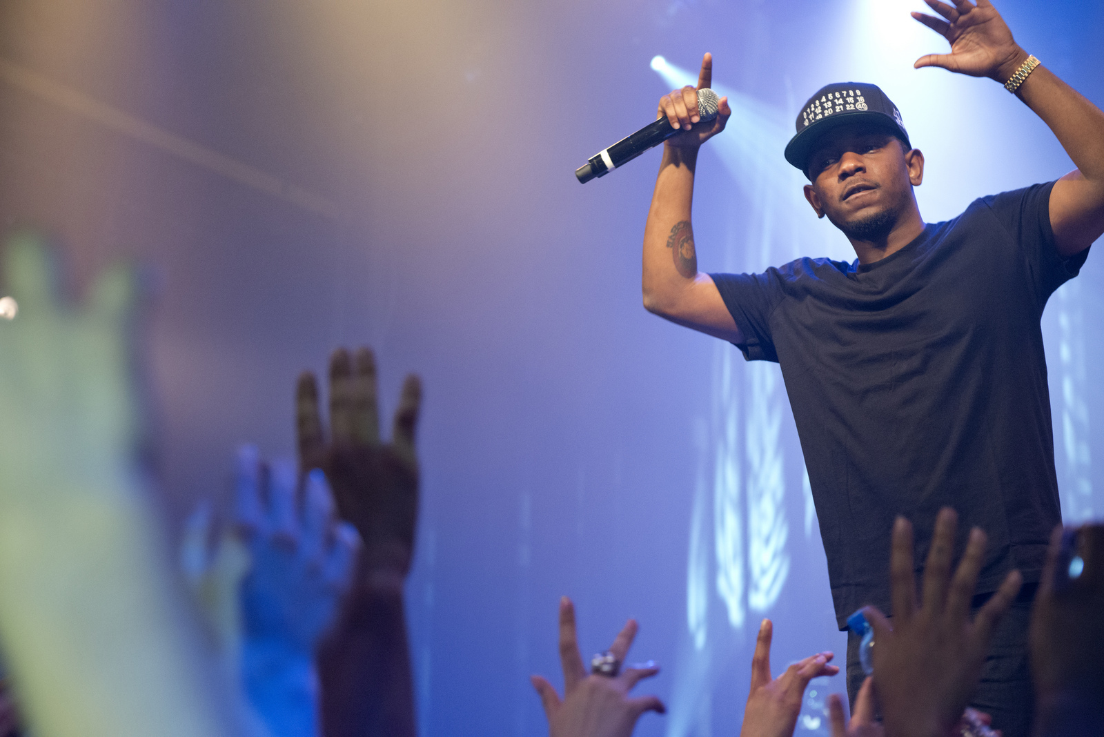 """""""DAMN.,"""" Kendrick Lamar's fourth major-label release, has been out for a week. Reviewing the album now has allowed the dust to settle, and boy was there a lot of dust.(Wikimedia Creative Commons)"""