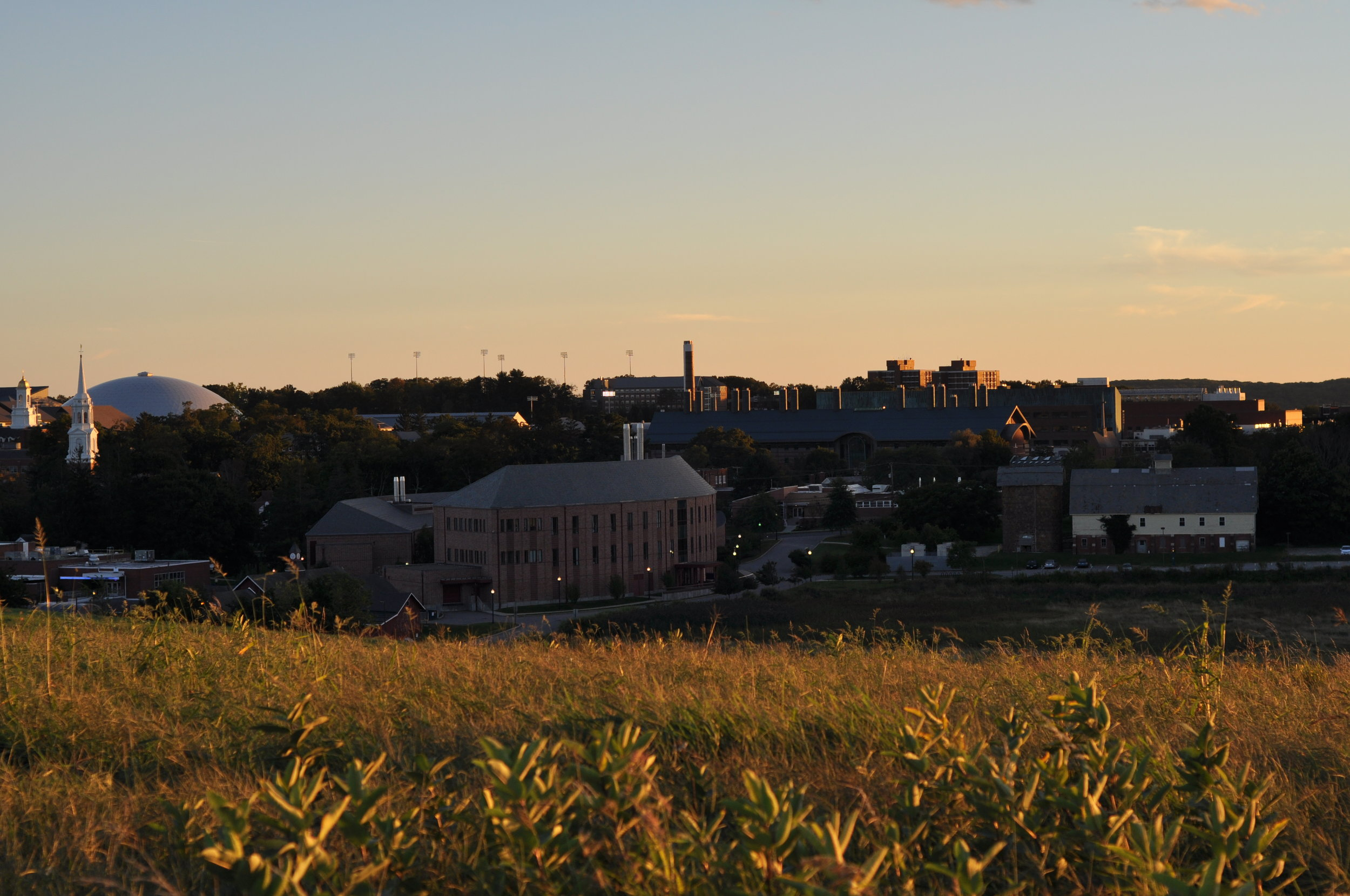 Sunrise at Horsebarn Hill is a must see at least once before graduation. (File photo)