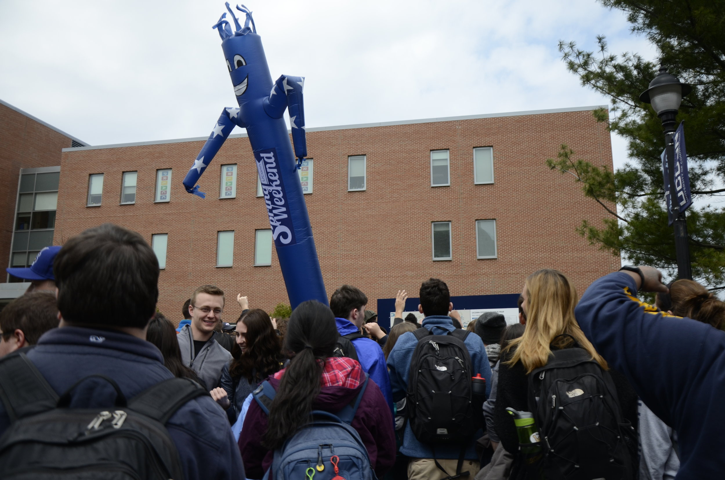 "Spring Weekend is the closest thing UConn sneiors have to a ""Senior Week."" (Charlotte Lao/The Daily Campus)"