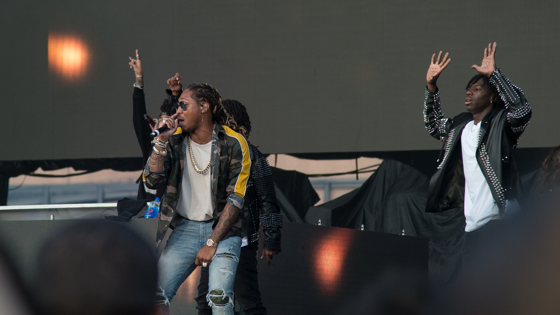Future performs during the early evening on day two of The Meadows Music and Art Festival at Citi Field on Sat. Sept. 16, 2017. (Amar Batra/The Daily Campus)