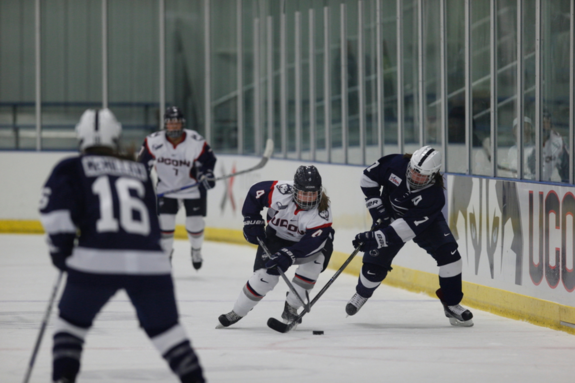 UConn women's hockey against Penn State last season. (File Photo/The Daily Campus)