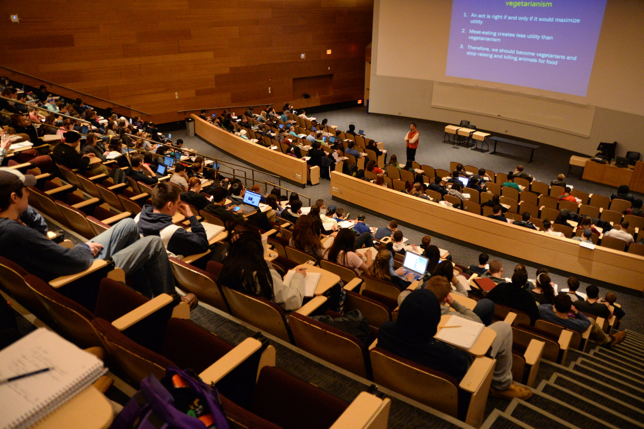 Recently, there has been an increase in science majors worldwide because of a push for STEM-related skills. (Amar Batra/The Daily Campus)