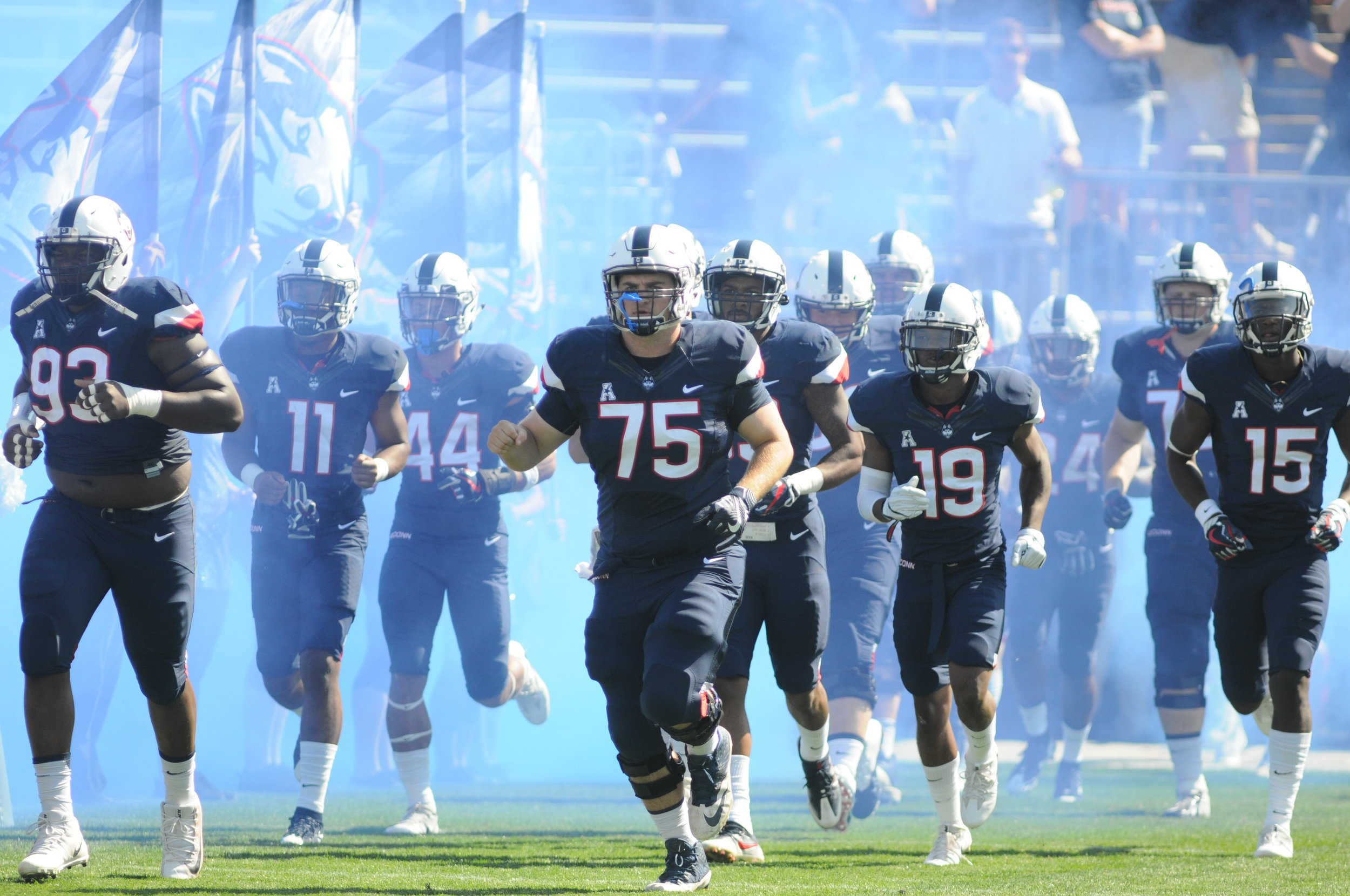 UConn football will be playing SMU this Sunday in Dallas, Texas. (Jon Sammis/The Daily Campus)