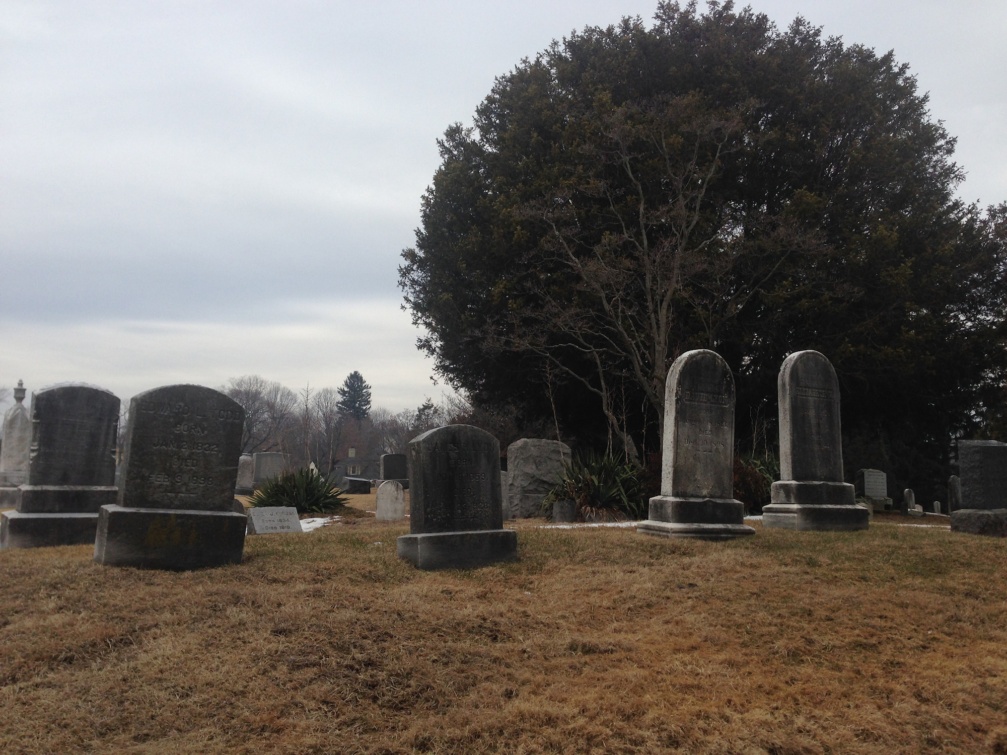Infamous in Connecticut folklore is the Union Cemetery in Easton, CT, home of the White Lady. (Neil R./Creative Commons)