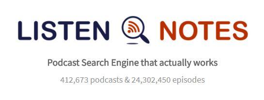 (Screenshot/Listen Notes)