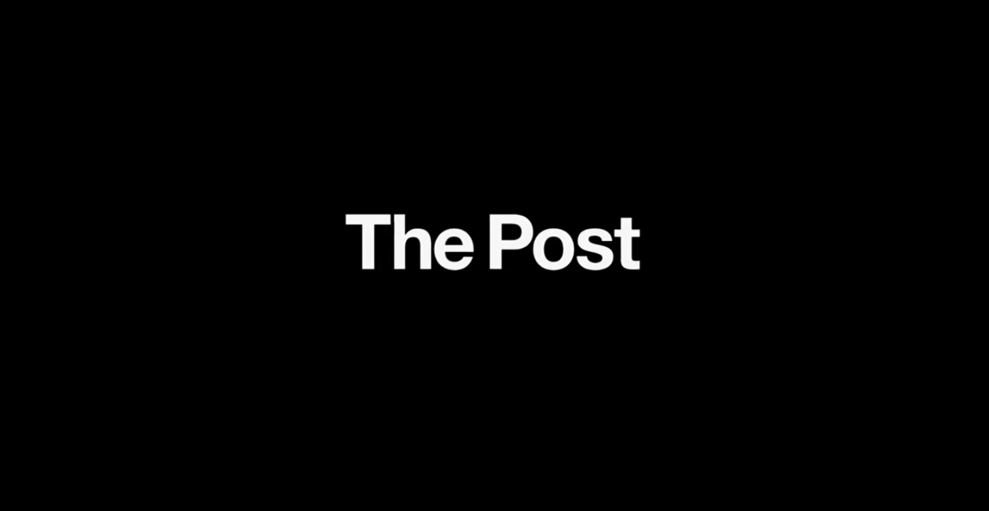 """""""The Post"""" follows Katharine Graham, played by Meryl Streep, and Ben Bradlee, played by Tom Hanks, throughout the process of publishing classified military documents about the United States government's actions in the Vietnam War─ documents that later became infamously known as the """"Pentagon Papers."""" (screengrab courtesy of 'The Post' trailer)"""