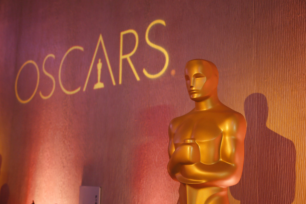 In this Feb. 6, 2017 file photo, an Oscar statue is places inside the ballroom at the 89th Academy Awards Nominees Luncheon in Beverly Hills, Calif. Nominations for the 90th Academy Awards were announced on Tuesday, Jan. 23, 2018. (Photo by Danny Moloshok/Invision/AP, File)
