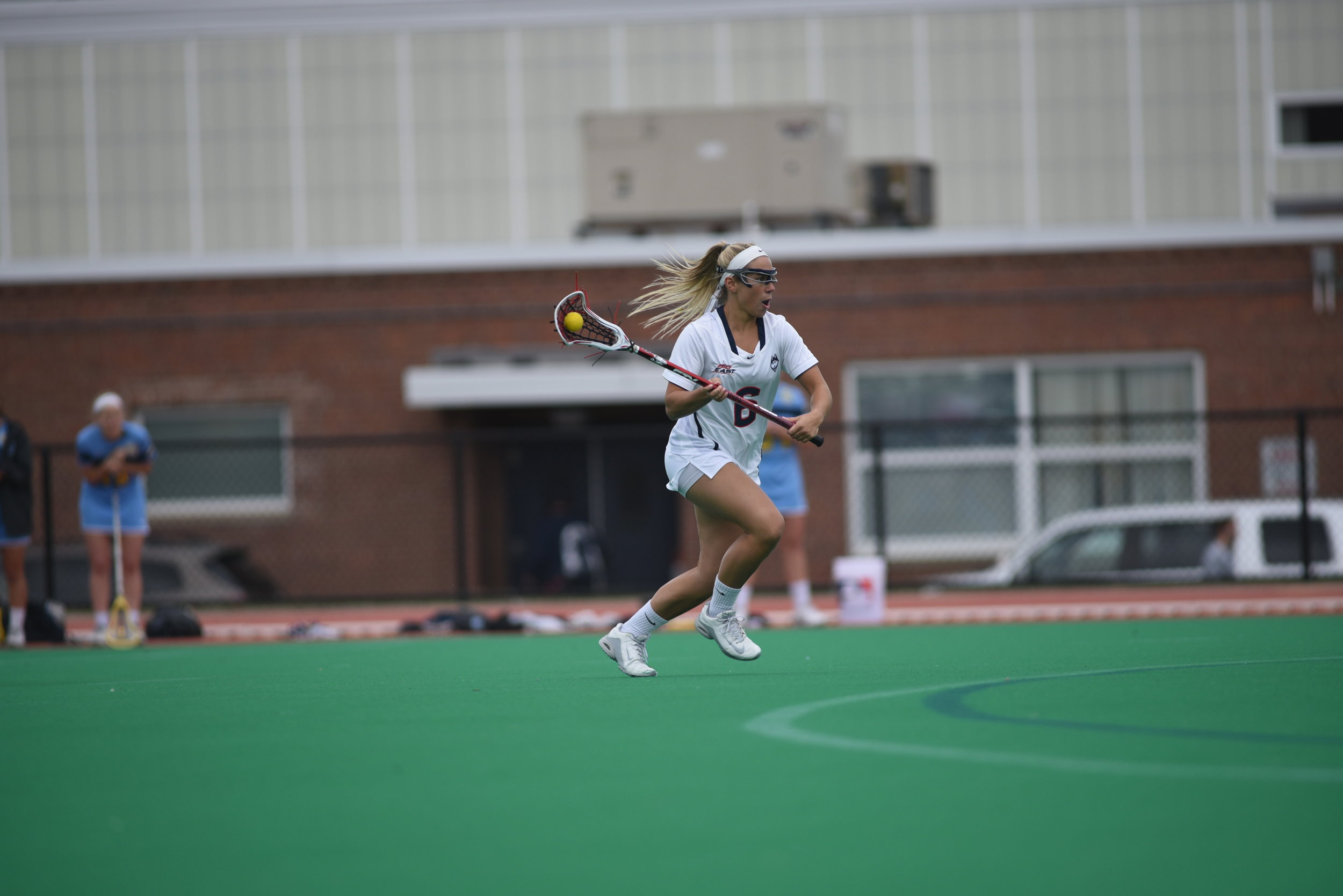 The Huskies will be playing Syracuse, who was ranked seventh in the IWCLA poll released Jan. 29. The Orange were also picked to finish second in the ACC behind North Carolina. (Charlotte Lao/The Daily Campus)
