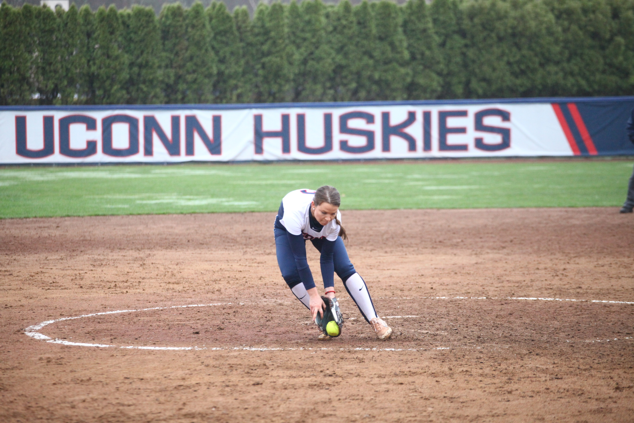 Jill Stockley and Softball opened their season with a tournament in Jacksonville over the weekend (File Photo/The Daily Campus)